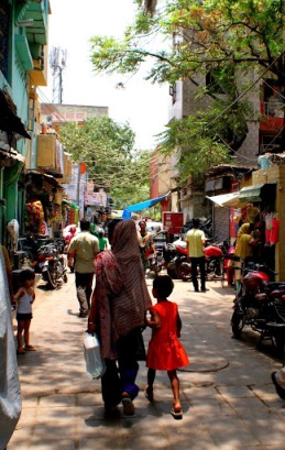 The street where I live. Photo credit: Erin Glosson
